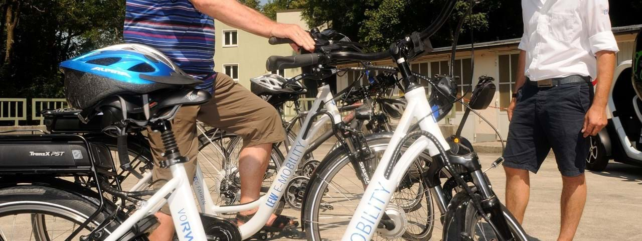 Ladelösung: LEW E-Bike-Ladestation