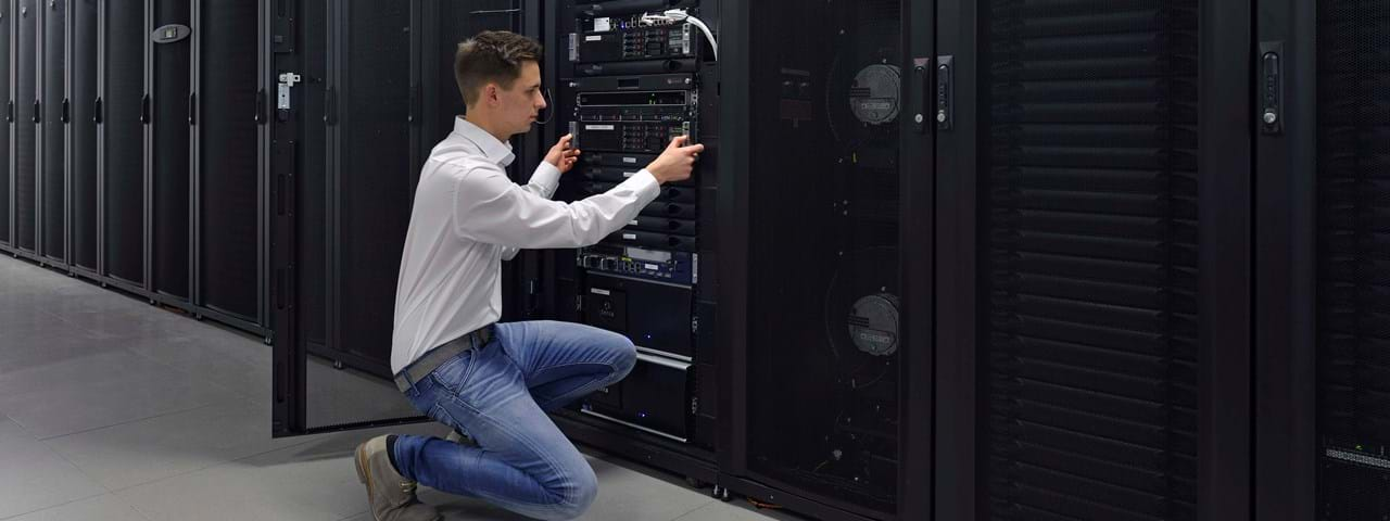 Colocation in unserem Rechenzentrum
